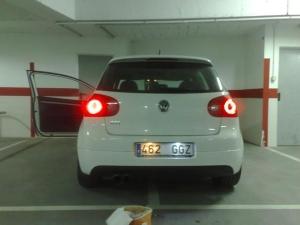 halogena vs LED - Golf V copia