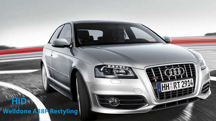 hid pour audi a3 8p restyling 2010 welldone xenon france. Black Bedroom Furniture Sets. Home Design Ideas